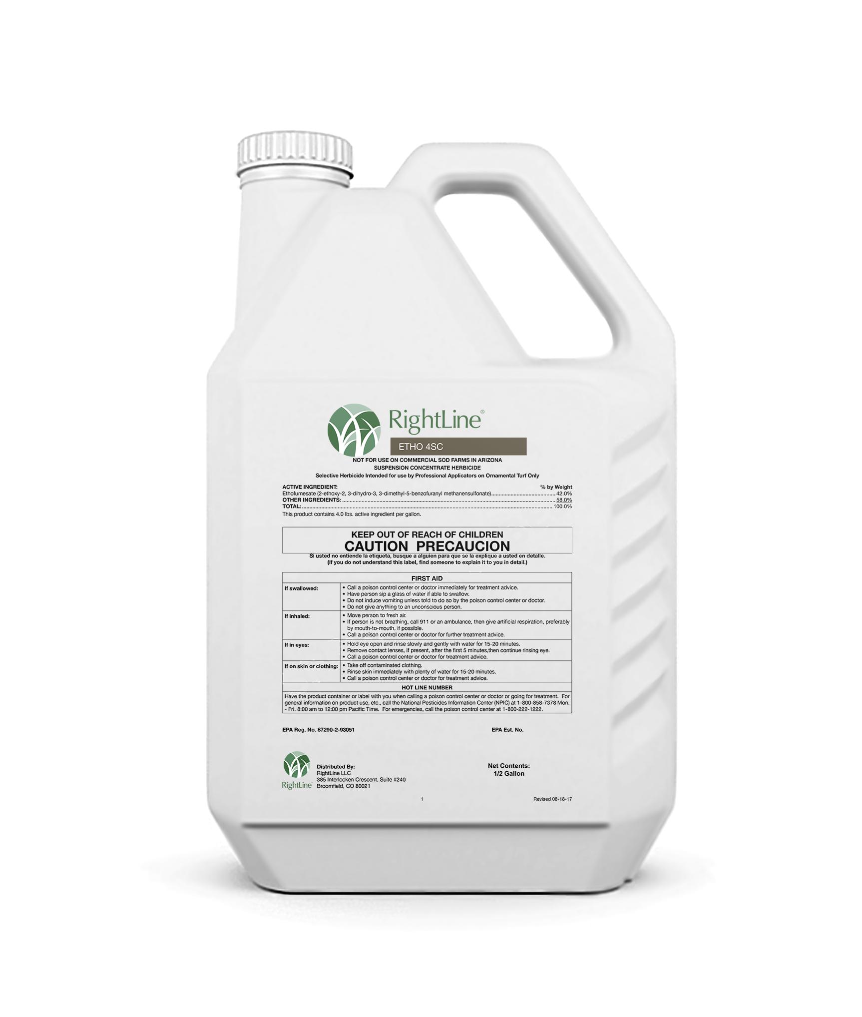 rightline ETHO 4SC herbicide