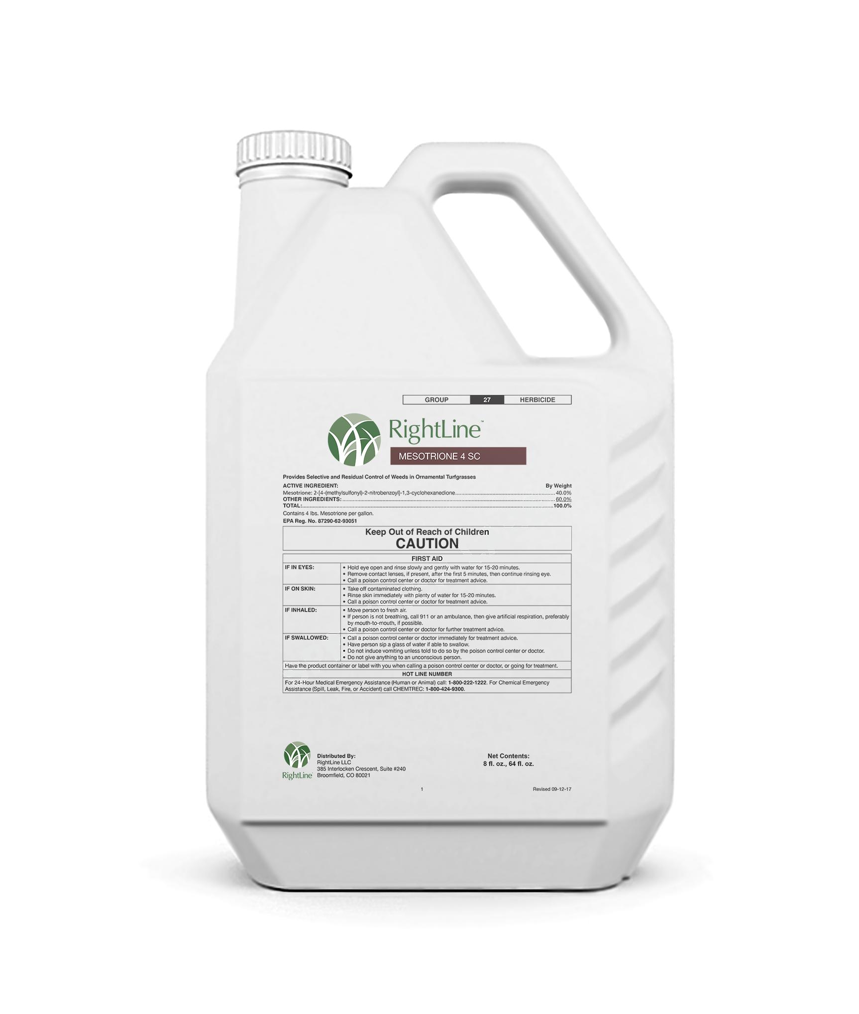 rightline mesotrione 4 sc herbicide