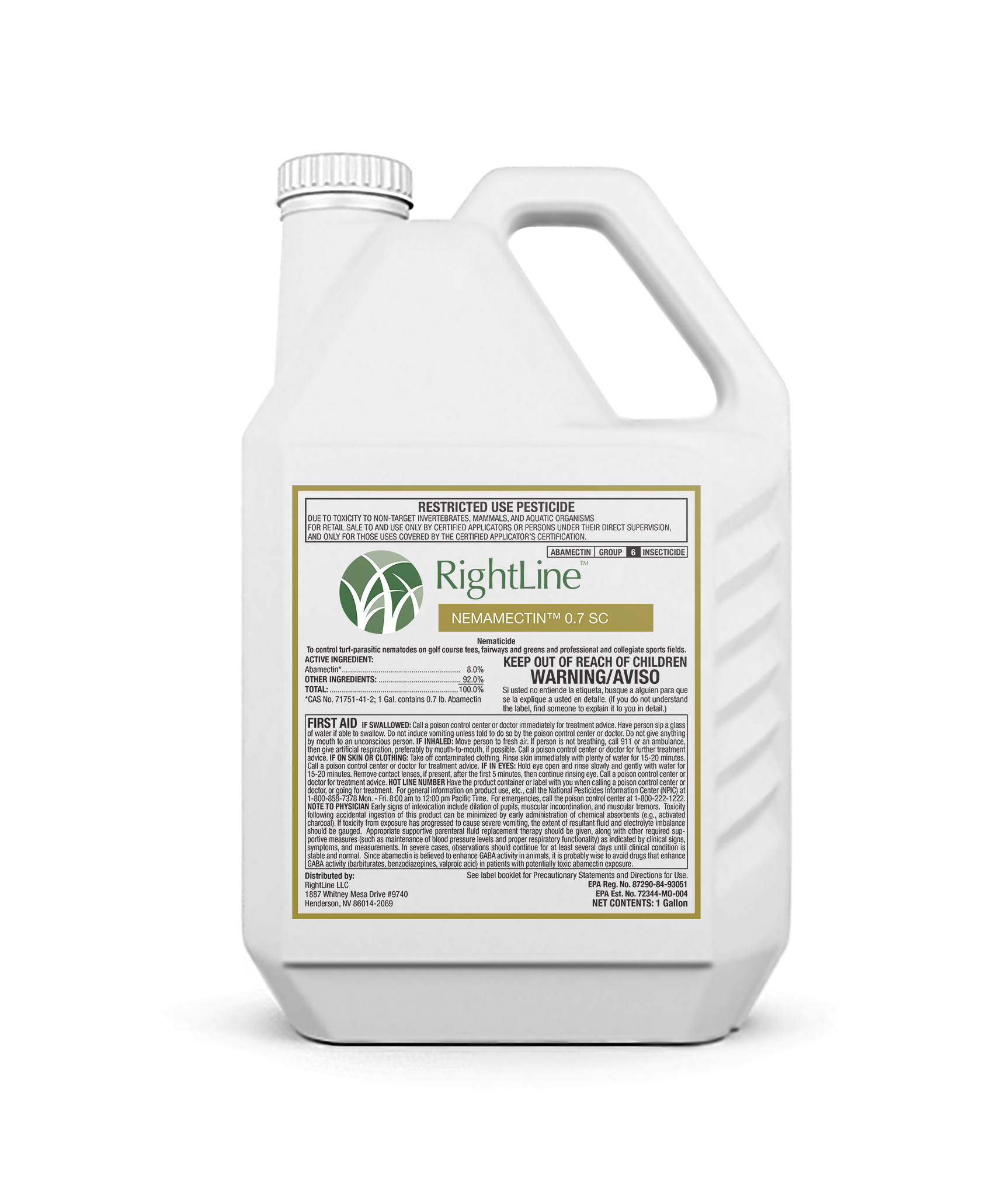 rightline nemamection 0.7 sc insecticide